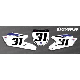 Kit de decoració Placa Nombre de Fàbrica Edició - Yamaha YZ/YZF -idgrafix