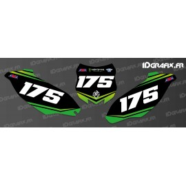Kit decoration Plate Number Monster Edition - Kawasaki KX/KXF-idgrafix