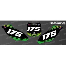 Kit decorazione Numero di Targa Monster Edition - Kawasaki KX/KXF -idgrafix