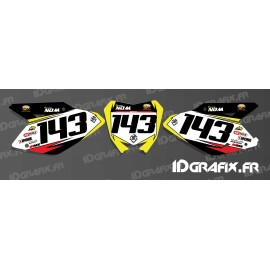 Kit dekor-Platte-Nummer MX-Edition - Suzuki RM/RMZ -idgrafix