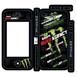 Kit Déco Quad Agency Iphone 4 / 4S