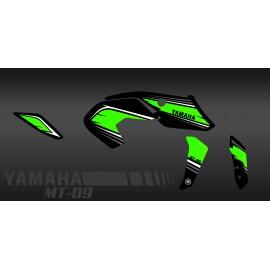 Kit décoration Racing vert - IDgrafix - Yamaha MT-09 (après 2017)