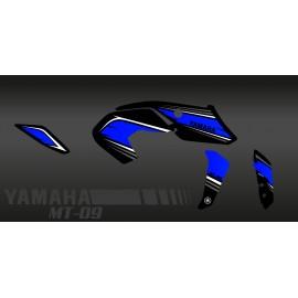 Kit decoration Racing blue - IDgrafix - Yamaha MT-09 (after 2017)