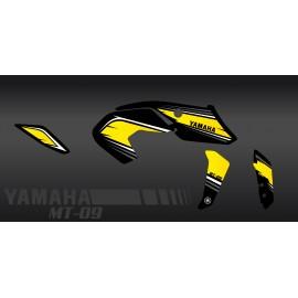 Kit de decoració de Curses de color Groc - IDgrafix - Yamaha MT-09 (després de 2017) -idgrafix