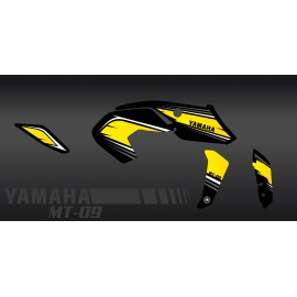 Kit decoration Racing Yellow - IDgrafix - Yamaha MT-09 (after 2017)