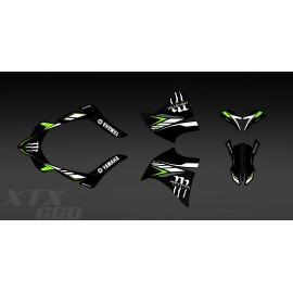 Kit deco 100% my Own Monster (green) for Yamaha 660 XT (2000-2007) - IDgrafix
