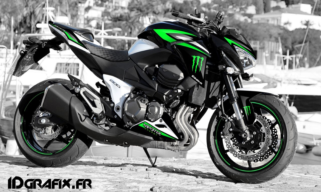 Can Am Renegade 800 >> Kit decoration 100% my Own Monster series - Kawasaki Z800 ...