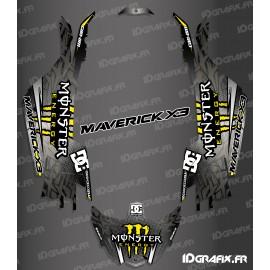 Kit de decoració DC de la Sèrie - Groc Idgrafix - Am Maverick X3 -idgrafix