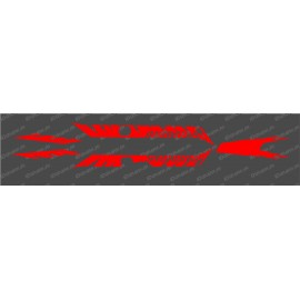 Kit déco Factory Edition Light (Rouge)- Specialized Turbo Levo-idgrafix