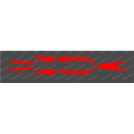 Kit deco Fàbrica Edició de la Llum (Vermell)- Especialitzada Turbo Levo -idgrafix