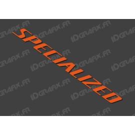Sticker Specialized 52x5.2 cm (Orange)