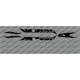 Kit deco Fàbrica Edició de Llum (Negre)- Especialitzada Turbo Levo