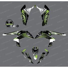 Kit decorazione Rettile Verde - IDgrafix - Kawasaki KFX 450R