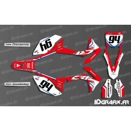 Kit de decoración piloto alemán Ken roczen Réplica - Honda CR/CRF 125-250-450 -idgrafix