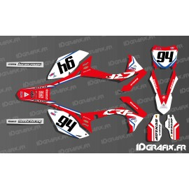 Kit decoration German rider Ken roczen Replica - Honda CR/CRF 125-250-450-idgrafix