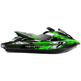 Kit deco 100% eigene Monster (Grün) - Yamaha-FX (nach 2012) -idgrafix