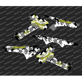 Kit decoration Camo Series - Part-Lat - IDgrafix - Can Am Renegade XXC