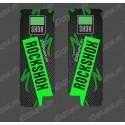 Stickers Protection Fourche RockShox Carbon (Vert) - Specialized Turbo Levo