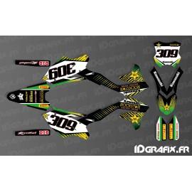Kit deco 100% personalizado Rockstar Energy para Kawasaki KX/KXF -idgrafix