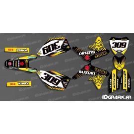 Kit-deco-100% eigene Rockstar-Edition für Suzuki RM/RMZ -idgrafix