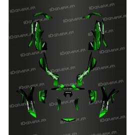 Kit de decoración 100% Personalizado Monster Edition (Verde) - IDgrafix - Can Am Outlander (G1) -idgrafix