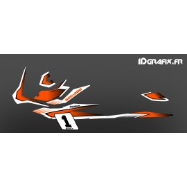 Kit decorazione Gara Orange (Light) - per Seadoo GTI -idgrafix