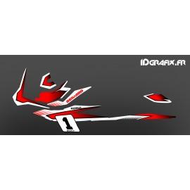 Kit decoration Red Race (Light) - for Seadoo GTI - IDgrafix