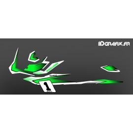 Kit décoration Race Vert (Medium) - pour Seadoo GTI-idgrafix
