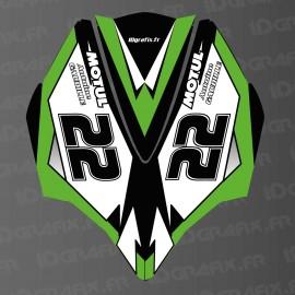 Kit decorazione di Copertura AV Green LTD per Kawasaki Ultra 250/260/300/310R -idgrafix