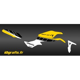 Kit décoration Factory Jaune - IDgrafix - Yamaha MT-07