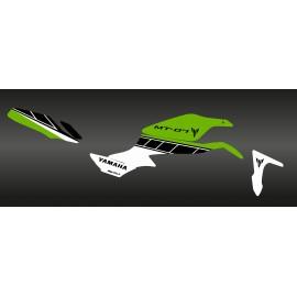 Kit décoration Factory Vert - IDgrafix - Yamaha MT-07
