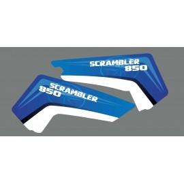 Kit déco partiel Pure - Polaris Scrambler 850-idgrafix