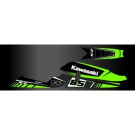 Kit décoration Factory pour Kawasaki X2-idgrafix