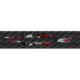 Kit deco Pennello Edizione della Luce (Rosso)- Specialized Turbo Levo -idgrafix