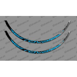 Lot 2 Stickers Brush Edition (Blue) - Rim Roval