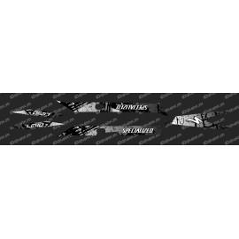 Kit deco Pennello Edizione di Luce (Bianco)- Specialized Turbo Levo -idgrafix