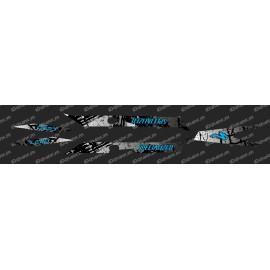 Kit deco Brush Edition Light (Blue)- Specialized Turbo Levo - IDgrafix