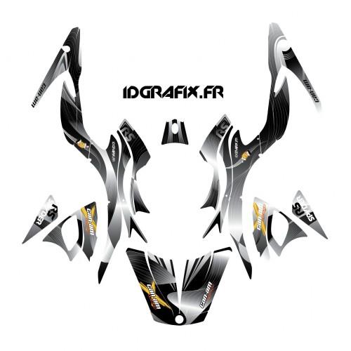 photo du kit décoration - Kit décoration Liner Gris - IDgrafix - Can Am Spyder RS