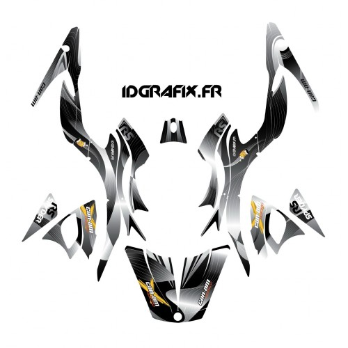 Kit dekor-Liner-Grau - IDgrafix - Can-Am Spyder RS