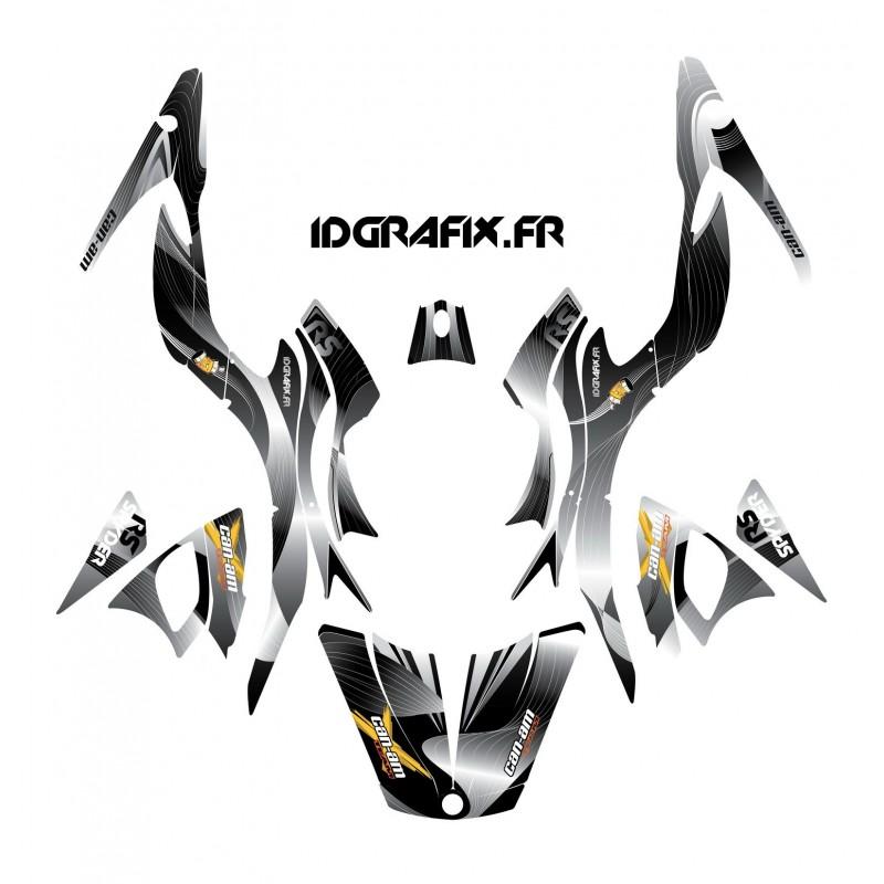 Kit de decoración de Revestimiento de color Gris - IDgrafix - Can Am Spyder RS -idgrafix