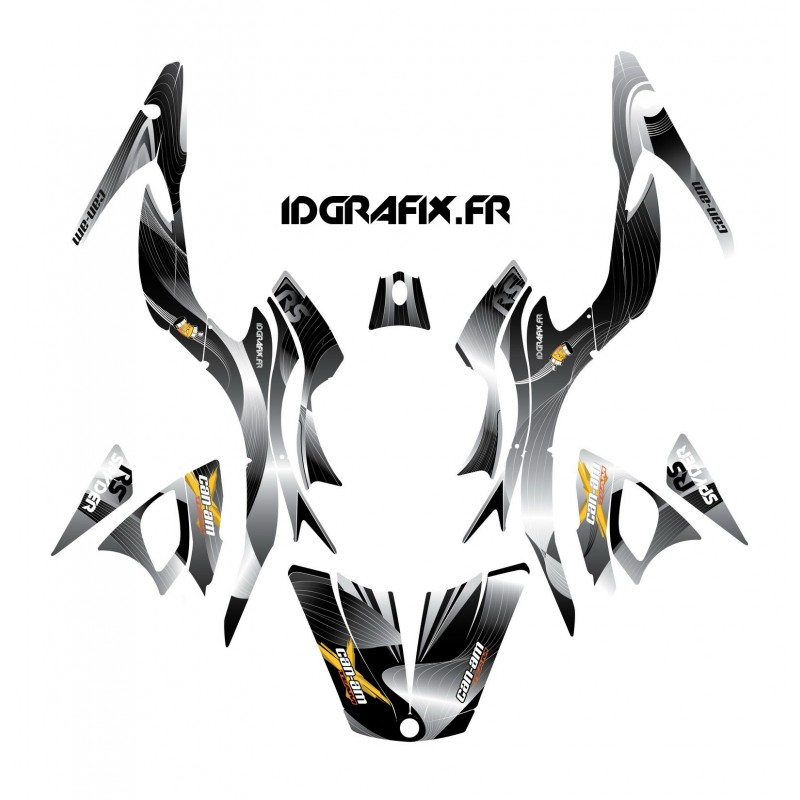 Kit decoration Liner Gray - IDgrafix - Can Am Spyder RS-idgrafix