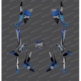 Kit decoration Light WHIP Edition (Grey / Blue) - IDgrafix - Can Am Outlander (G2)