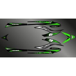 Kit deco 100% la mia Motul Edizione - Yamaha FX (1 ° generazione) -idgrafix
