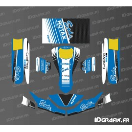 Kit deco Factory Edition Sodi Racing (Blue) for go-Karting SodiKart-idgrafix