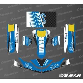 Kit deco Fàbrica Edició Sodi Curses (de color Blau) per anar-Karting SodiKart