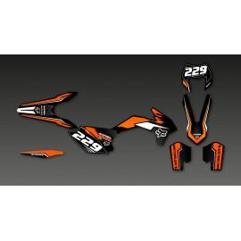 Kit-deco-FOX Edition für KTM EXC -idgrafix