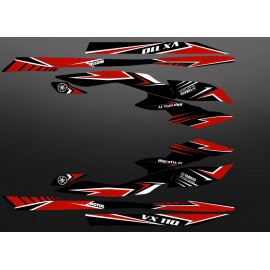 Kit decorazione Edizione di Fabbrica Rosso per Yamaha VX 110 (2009-2014) -idgrafix
