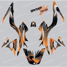 Kit dekor-Liner-Orange - IDgrafix - Can-Am Spyder RS