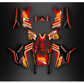 Kit décoration Repsol series (Full) - IDgrafix - Polaris 850/1000 Scrambler