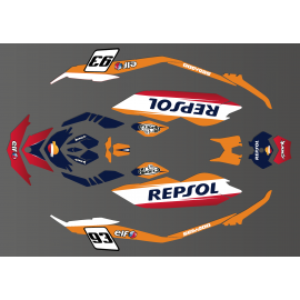 Kit decorazione Honda GP serie per la Seadoo Scintilla -idgrafix